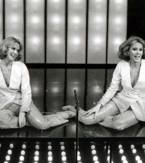 Le gemelle Kessler a Sanremo 2014