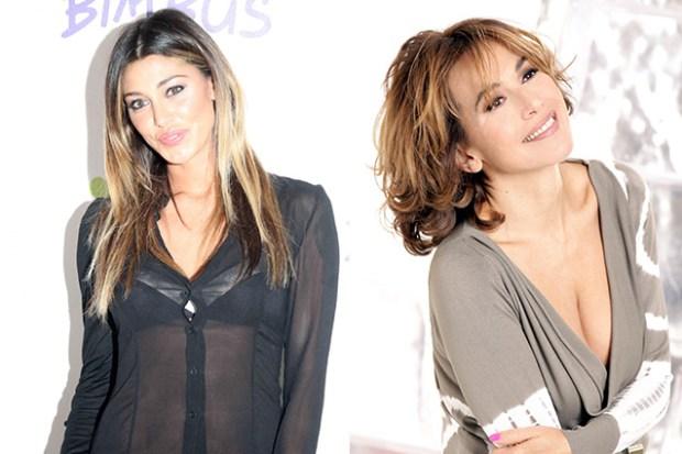 Belen Rodriguez e Barbara D'Urso