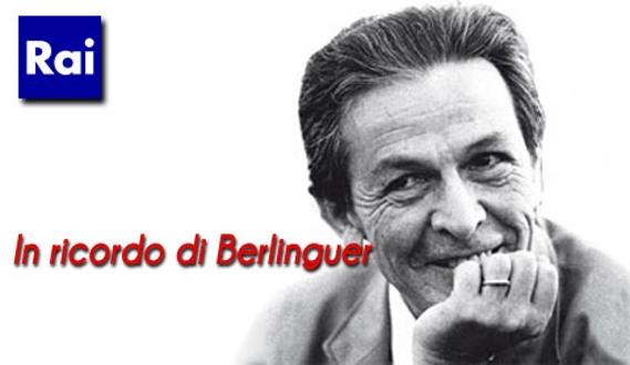 Enrico Berlinguer, gli speciali Rai