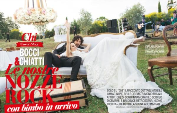 Laura Chiatti e Marco Bocci su Chi