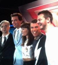 foto giudici e conduttore X Factor 8