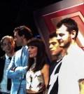 foto giudici e conduttore X Factor