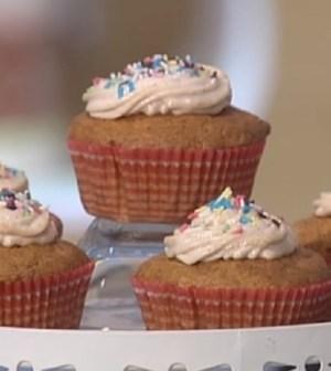 foto cupcake di zucca