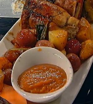foto pollo alla frutta Mezzogiorno italiano