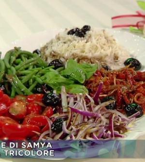 foto insalata tricolore