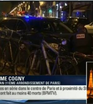 foto attentato Parigi