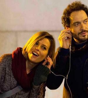 foto Claudia Pandolfi e Claudio Santamaria