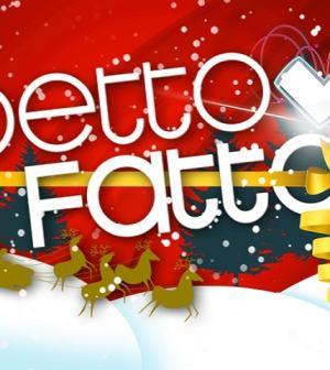 foto logo natalizio Detto Fatto