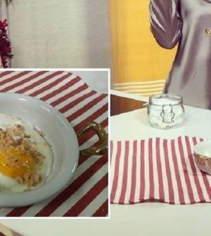 foto uova con noci al tartufo