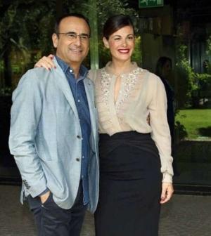 foto Carlo Conti e Vanessa Incontrada