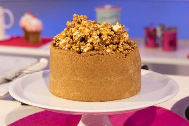 foto cheesecake caramello