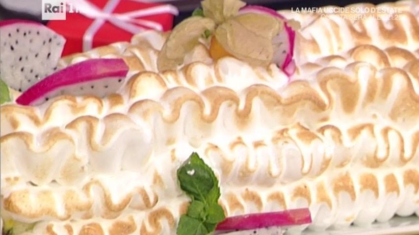 Tronchetto Di Natale Parodi.La Prova Del Cuoco Tronchetto Di Natale Al Cioccolato Bianco