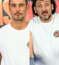 foto Raz Degan e Massimo Ceccherini