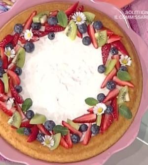 foto crostata morbida frutta secca