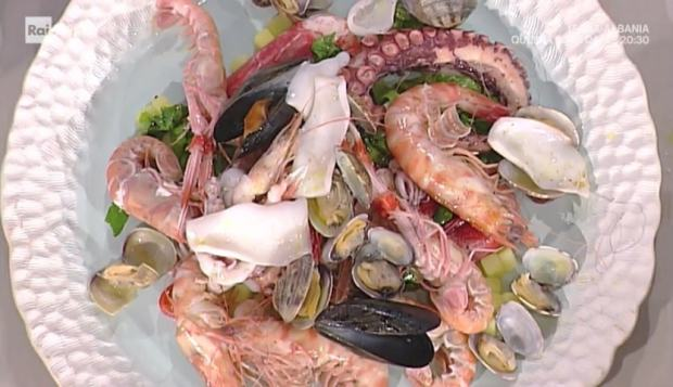 foto insalata di mare
