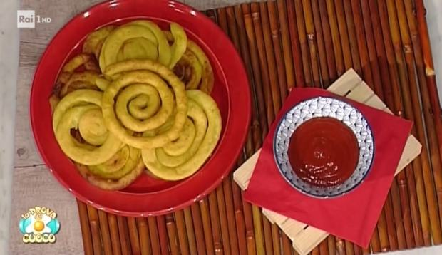 foto patate fritte spirale