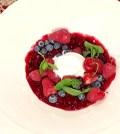 foto i fatti vostri zuppa frutti rossi e gelato