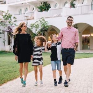 Foto Justine Mattera e la sua famiglia