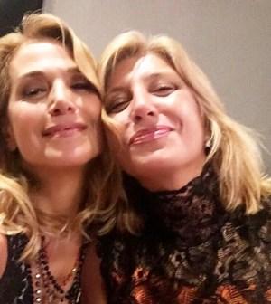 foto Barbara d'Urso con Myrta Merlino
