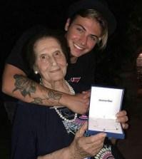Foto Federico Rossi e la nonna