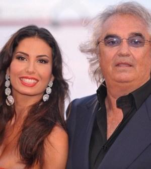 Foto Elisabetta Gregoraci e Flavio Briatore