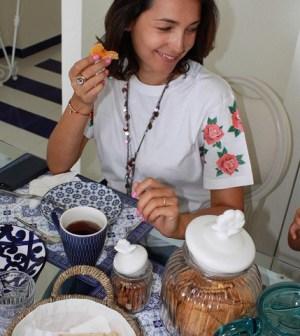 foto Caterina Balivo colazione