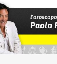 foto oroscopo Paolo Fox con scritta