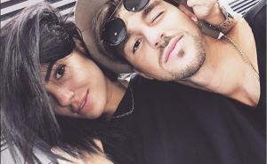 foto Andrea e Giulia in aeroporto