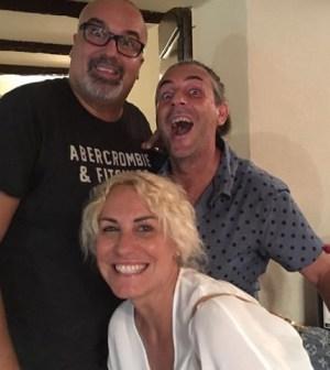 Foto Antonella Clerici e Giovanni Ciacci