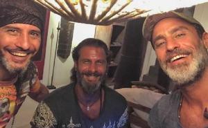 Foto Raz Degan insieme ai fratelli