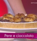 foto crostata pere e cioccolato