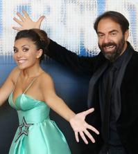 Foto conduttori Celebration Serena Rossi e Neri Marcorè