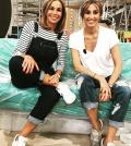 foto Cristina e Benedetta Parodi prove Domenica In