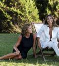 Foto Benedetta e Cristina Parodi conduttrici Domenica In