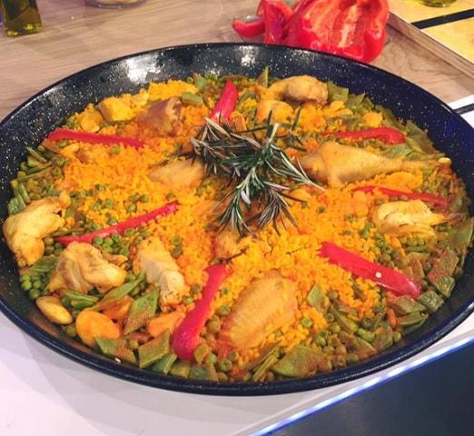 Ricette La Prova Del Cuoco Paella Valenciana Di David Povedilla