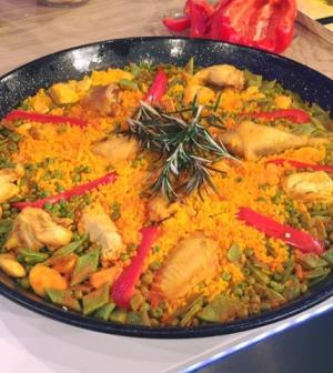 Foto paella valenciana La prova del cuoco