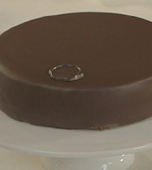 Foto torta sacher Bake off Italia
