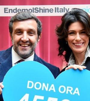 Foto Anna Valle e Flavio Insinna Prodigi