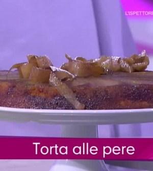 foto torta alle pere