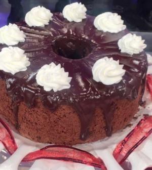 Foto chiffon cake al cacao La prova del cuoco