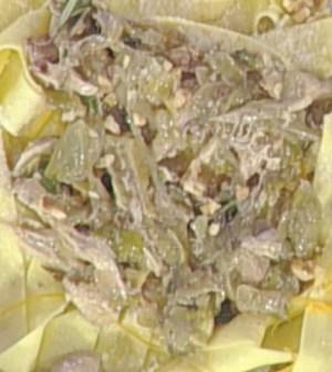 foto pappardelle con sugo di faraona