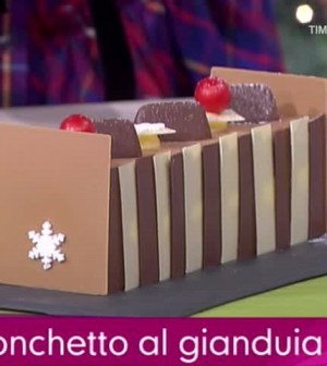 Tronchetto Di Natale Detto Fatto 2019.Detto Fatto Dolce Di Natale Tronchetto Al Gianduia Di Michel