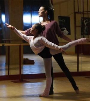 Foto di In punta di piedi, film tv di Rai1 con Bianca Guaccero