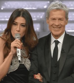 Foto Virginia Raffaele a Sanremo 2018