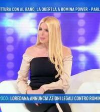 foto loredana lecciso