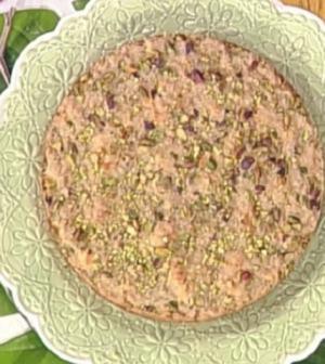 Foto torta al limone con pistacchi La prova del cuoco