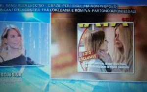 foto loredana lecciso con jasmine a cellino san marco