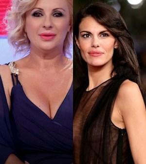 foto Bianca Guaccero e Tina Cipollari