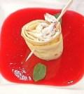 Foto rosa di crepe La prova del cuoco