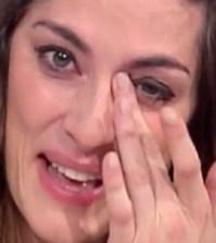foto Elisa Isoardi lacrime Prova del cuoco